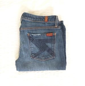 7 For All Mankind - Flynt Bootcut Jeans 27